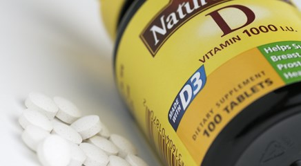 Study suggests the lowest dose of vitamin D3 supplements needed to suppress parathyroid hormone in overweight and obese adults is 1000 IU daily.