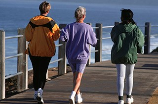 Walking Linked to Lower Risk of Breast Cancer