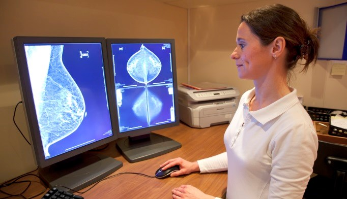 The risk for thyroid or breast cancer as a secondary malignancy is increased with the diagnosis of the other cancer.