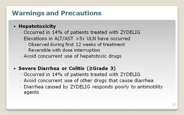 ZYDELIG® (idelalisib) for Relapsed Chronic Lymphocytic