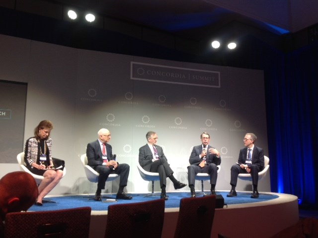 """Speakers at the 2016 Concordia Summit's panel, """"Precision Medicine in Cancer Research,"""" discussed the importance and future of immunotherapy for cancer treatment."""