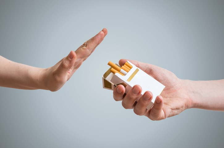 NCCN guidelines recommend that smoking cessation be provided as part of oncology treatment.