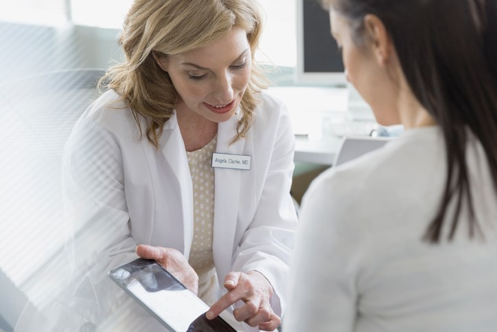 As breast cancer can be asymptomatic or have a series of different symptoms and physical exam findings, standard procedure is hard to define.