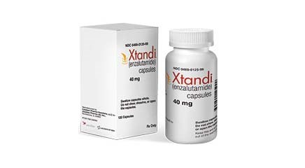 Xtandi (enzalutamide) approved for the treatment of patients with metastatic castration-resistant prostate cancer.