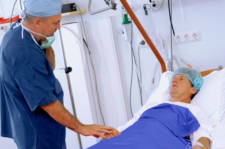 There is debate regarding pasireotide for patients with pancreatic cancer undergoing surgery.