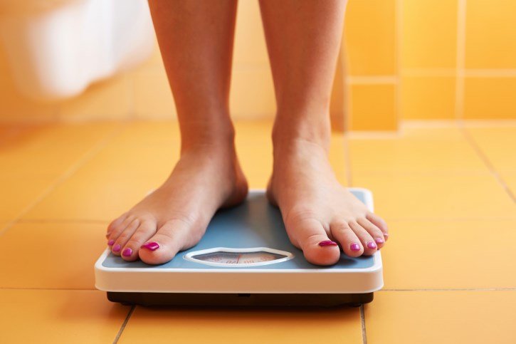Weight loss during menopause is associated with a lower risk of endometrial cancer.