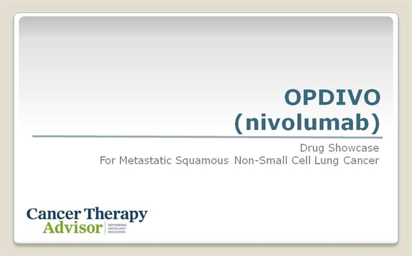 Opdivo Nivolumab For Metastatic Squamous Non Small Cell