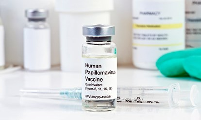 Decreases in cervical intraepithelial neoplasia on the population level among patients vaccinated for the human papillomavirus should be considered.