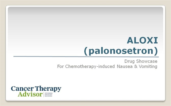 Aloxi Palonosetron For Chemotherapy Induced Nausea And