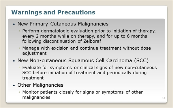Vemurafenib Side Effects