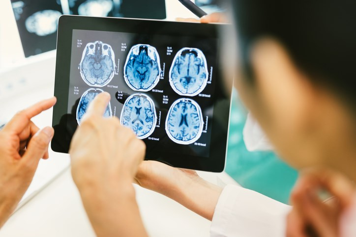 Subgroup analyses demonstrated that SCRT particularly benefited patients with a neurological performance scale score of 2 to 3, supratentorial tumors, and patients age 16 or younger.
