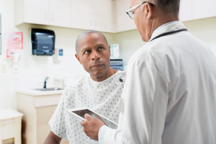 Prostate cancer patients accurately report their comorbidities, and participants in cancer clinical trials report more adverse events than trial investigators.