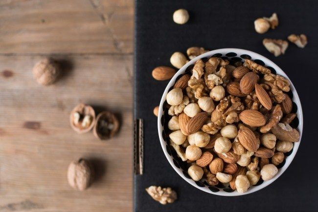 High Nut Intake Improves Survival Among Patients With Colon Cancer