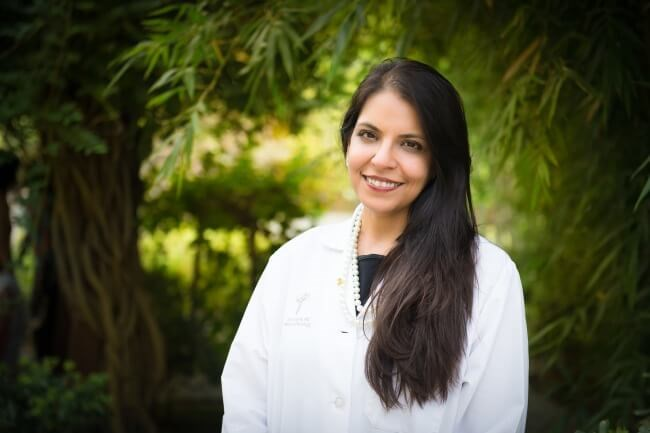 Photo of Dr Arti Hurria, used with permission. Photo credit: City of Hope.